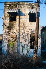 house (alex povey) Tags: abandoned abandonedhouse graffitti nola new orleans neworleans 9thward marais maraisst goldenhour