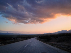 Here we picked up our dog Jolie as a puppy (VillaRhapsody) Tags: sunset cloud evening vanishingpoint driving roadtrip land iphone landcsape burdur challengeyouwinner karamaranlar