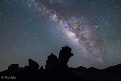 Luz Celestial ( Pere Soler) Tags: night nightscape nightshot nocturna starrynight milkyway vialactea vialctia paisajeastronmico paisatgeastronmic