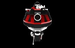 (New render) Orbital Assault Vessel Dhoruba (wray20641) Tags: toy toys lego space micro spaceship microscale