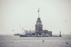 stormy (felipeepu) Tags: sea sky boat dove seagull stormy istanbul