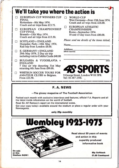 LIVERPOOL VS NEWCASTLE United - 1974 FA Cup Final - Page 14