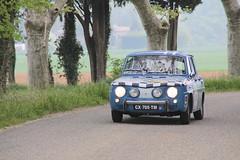 20140412 La Laupie Drôme - Tour Auto - Renault 8 Gordini -(1966)- (anhndee) Tags: france frankreich classiccars rhonealpes drôme tourauto voituresanciennes