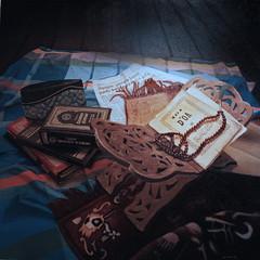 Al-Quran Series I (latifmaulan) Tags: stilllife art painting artwork artist acrylic artists realist sarong acrylicpainting oilpainting realism quran realistic tasbih photorealism hyperrealism alquran hyperrealist oilpaintingoncanvas latifmaulan