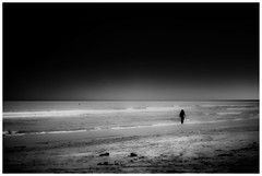 cercando risposte (G e e n o) Tags: auto sea bw white black beach 50mm mare alone f14 14 bn solo question fujifilm 50 bianco nero spiaggia xe1 revuenon