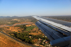 Air Explore 737-300 (Maik Schetters) Tags: summer canon de eos san d air joan son explore final boeing 300 500 approach mallorca palma 737