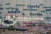 West Bank (Crispianb) Tags: wall graffiti bethlehem