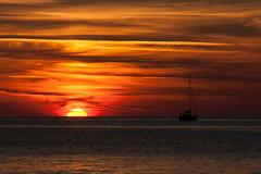 Tramonto (pinomangione) Tags: sea sun tramonto mare cielo sole calabria tropea allaperto ciaelo pinomangione
