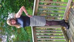 The skirt 5 (donnacd) Tags: red white black stockings panties scarf hair gold necklace donna tv shoes pumps dress legs cd bra fishnet tights polka crossdressing dressing blouse tgirl thong sissy tranny heels corset earrings collar dots jewels crossdresser crossdress ts crossed domina feminization clit travesti clitty feminized xdresser transgenre tgurl