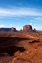 Vertical Look from the Viewpoint (jpmckenna - Denali Bound) Tags: road trip arizona landscape desert highdesert monumentvalley navajotribalpark getoutside iconicamericanwest