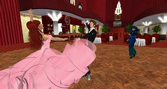 Steppin at the Seraph Club (Holocluck Henly) Tags: swing secondlife bigband electroswing vintageretro dieselpunk holodoc holocluck