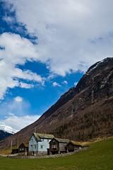 """L'azienda agricola"" (lenehuse) Tags: mountain norway spring farm stryn olden sognogfjordane"