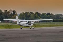 EI-GSM (Fox Hotel Lima Photography) Tags: ireland dublin irish canon flying airport aviation cessna weston modes 70200mm 182 in lycoming c182 70d c182s flyinginireland eigsm
