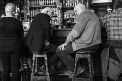 Conversation Over Guinness (...Iwonttell) Tags: ireland dublin bar streetphotography guinness