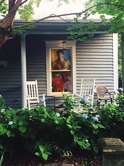 140/366 (moke076) Tags: atlanta house film window oneaday mobile project georgia funny chairs walk decoration cellphone cell porch photoaday hydrangea 365 rocking hasselhoff thehoff clapboard cabbagetown baywatch entertaining iphone 2016 davidhasselfhoff 366 project365 365project project366 vsco vscocam
