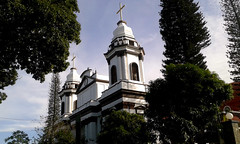 And then...I finished my first approach to Alajuela and its heritage (vantcj1) Tags: arquitectura torre edificio catedral cielo nubes rbol pino vegetacin cpula patrimonio neoclsico