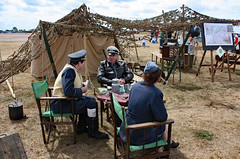 'Somewhere in Northern France, 1941', RAF Fairford, Gloucestershire (Kev Slade) Tags: reenactors wwii egva raffairford riat2010 gloucestershire
