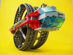FERIS Wheel (David Roberts 01341) Tags: lego space transport technic unicycle scifi vehicle allterrain monowheel minfigure