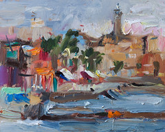 Colorful Morning (http://annafineart.net/) Tags: sea seascape abstract art modern port painting landscape boats landscapes boat mixed spain artist gallery seascapes mixedmedia abstractart contemporary modernart fineart paintings arts murcia spanish painter oil expressionism dibujo cartagena oilpainting seaport pintura finearts artstudio pleinair abstractpainting surrealista oilcolors dailypainter oilmedia imprrssionist annafineart
