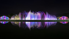 Color spectrum. (Andy @ Pang Ket Vui ( shootx2 )) Tags: show park color fountain spectrum sabah kota kinabalu tanjung perdana aru