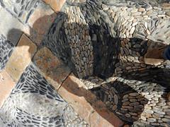 Dynamic Pavement (Antropoturista) Tags: shadow ego spain pavement cobblestones catalunya tarragona selfie