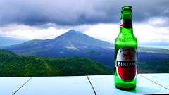 (jarrodconlon) Tags: bali mountain beer rain clouds volcano holidays forrest bintang