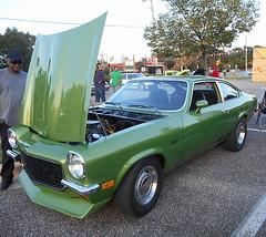 1973 Chevy Vega (splattergraphics) Tags: chevy vega 1973 hatchback cruisenight glenburniemd lostinthe50s marleystationmall v8vega