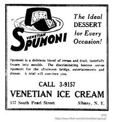 1932 venetian ice cream (albany group archive) Tags: street ny ice 1932 south cream albany venetian pearl spumoni