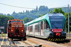 Cne517 e ATR125.105 Trenord (Daniele Monza) Tags: cne trenodeisapori trenord atr125