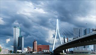 Der Himmel über Rotterdam