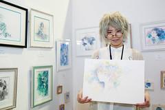 Artist (Design Festa) Tags: art japan illustration japanese tokyo artwork artist drawing japaneseart tokyobigsight artfestival japaneseartist japanartfestival japaneseartfestival