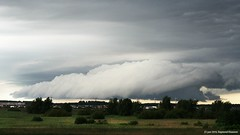 Roll cloud (raymondklaassen) Tags: cloud cloudspotter rolwolk flevoland ijmeer nederland netherlands wolk wolkenlucht lucht