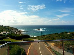 Open top bus - Lands End to Sennen Cove June 2016 (sipper666) Tags: sea bus cornwall scenic landsend opentopbus sennencove westcornwall