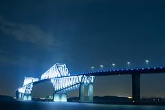 DSC04474 (Zengame) Tags: bridge japan architecture night zeiss tokyo sony illumination landmark illuminated cc jp creativecommons    distagon     wakasu   a6300  tokyogatebridge   distagontfe35mmf14za fe35mmf14 6300 distagonfe35mmf14