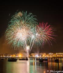 FA San Juan 1 (josmanmelilla) Tags: espaa luces mar san juan sony fiestas melilla fuegos artificiales