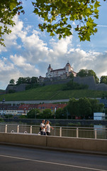 20160701_Leica_MP_0478_0054.jpg (RD B) Tags: sunset sky building nature clouds germany de bayern sonnenuntergang main himmel wolken bluesky fluss leafs baum gebude blauerhimmel wrzburg burg fotography ef35mmf14lusm baumbltter wrzburgerfestung leicamptyp240