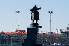 / A statue of Lenin at the Finland Station (Abs0lute2010) Tags: finland petersburg stpetersburg building city coat communism history lenin monument railway roof russia sky socialism station statue summer ussr