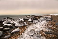 2015 in MA! (Tiny Leaf Designs Photography, LLC) Tags: ocean snow beach ma salt westport icebergs