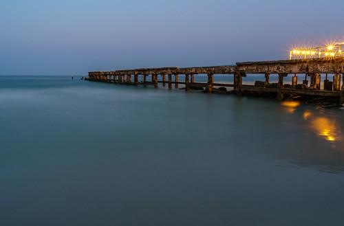 Old pier, Hua Hin, Thailand