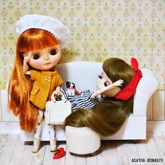 Atrasada / Late - Aimée :: Blythe Pow Wow Poncho (Custom Simone Albergaria) & Mélanie :: Pullip Hannah