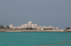 Presidential Palace - Abu Dhabi - See from waterway (stevebfotos) Tags: uae abudhabi unitedarabemirates belevaricruise abudhabi2015