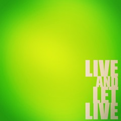 Live and let Live (tanvir_flickr) Tags: life happy peace live liveandletlive