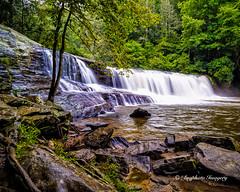 Hooker Falls (augphoto) Tags: nature water outdoors waterfall unitedstates scenic northcarolina pisgahforest augphotoimagery