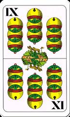 S-9 (Gerhard Palnstorfer) Tags: 6 laub unter 7 8 9 herz sechs sieben eichel könig acht ober 2015 schelle spielkarten neun as doppeldeutsche