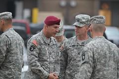 18th Airborne Corps Commander Visits Strike (strikebct) Tags: strike airborne pathfinder airassault jumpmaster operationiraqifreedom 101stairbornedivision screamingeagles 18thairbornecorps 502ndinfantryregiment dragonsix