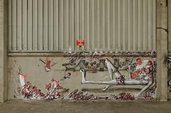 Smerg (Re PiEd) Tags: white black graffiti noir spray blanc dely spazm smerg antistak