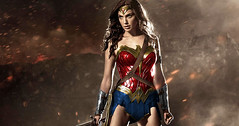 Gal Gadot Talks 'Wonder Woman' Powers in 'Batman v Superman' (cinvoxx) Tags: woman wonder superman batman powers talks gadot