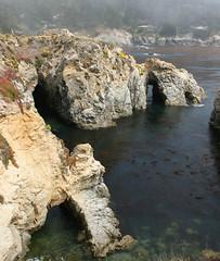 Arches at Point Lobos (philipbouchard) Tags: ocean california statepark coast natural pacific arches cliffs pacificocean carmel inlet montereycounty bluffs pointlobos pelicanpoint birdislandtrail statenaturalreserve
