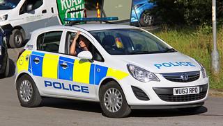 Avon and Somerset Police Vauxhall Corsa Safer Neighbourhood Team Patrol Vehicle - WU63 RPO