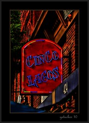 Cinco Lagos (the Gallopping Geezer '5.0' million + views....) Tags: food sign dinner canon restaurant neon drink signage dine geezer 2010 corel cincolagos